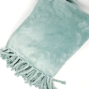 NORDSTROM AT HOME Kennebunk Bliss Plush Throw Teal